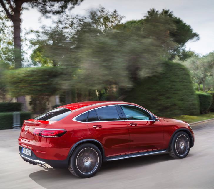 Mercedes-Benz introduceert nieuwe GLC Coupe