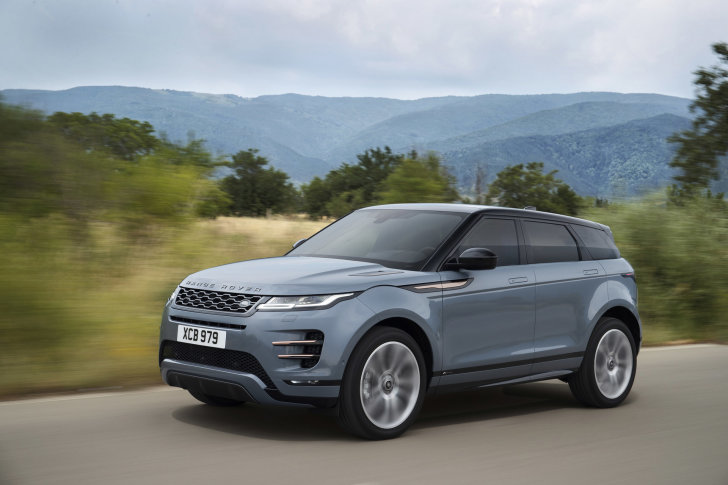 Range Rover Evoque nu bij de dealer