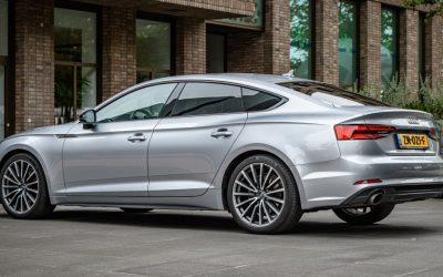 Audi A5 Sportback tijdelijk als Black Edition