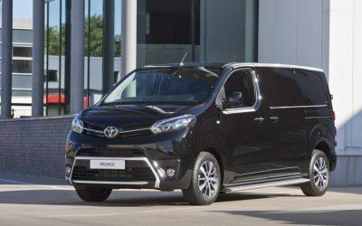 Toyota kondigt elektrische Proace aan