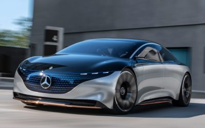 Mercedes-Benz toont EQS