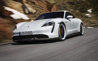 Porsche Taycan beleeft wereldpremiere
